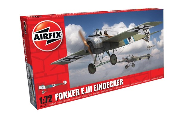 Airfix 1:72 Fokker E.III Eindecker - Model Kit