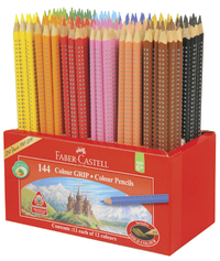 Faber-Castell: Grip Colour Pencils (Caddie of 144) image