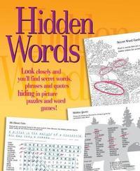 Hidden Words Activity Book image