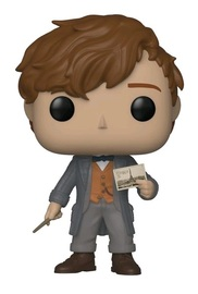 Fantastic Beasts 2 - Newt Scamander (with Post-Card) Pop! Vinyl Figure