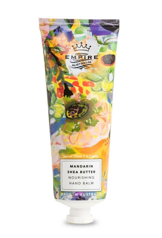 Empire Mandarin Oil & Shea Butter Hand Balm (125g)