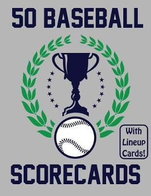 50 Baseball Scorecards With Lineup Cards by Francis Faria