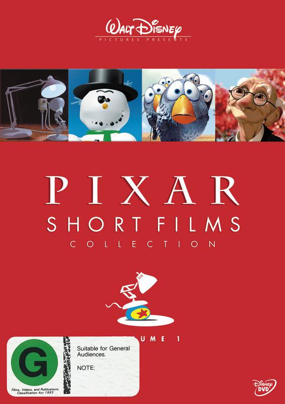 Pixar - Short Films Collection: Vol. 1 on DVD