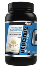 Giant Sports Delicious Elite Protein - Vanilla (907g)