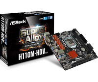 ASRock H110M-HDV R3.0 Motherboard image