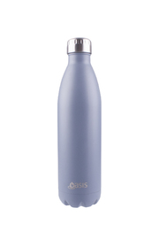 Oasis Stainless Steel Insulated Drink Bottle - Matte Grey (750ml)