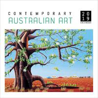 Contemporary Australian Art 2019 Square Wall Calendar