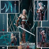 """The Witcher: Ciri (Cirilla Fiona Elen Riannon) - 7"""" Action Figure"""
