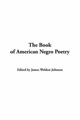 The Book of American Negro Poetry image