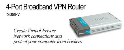 D-Link 4-Port Broadband VPN Router