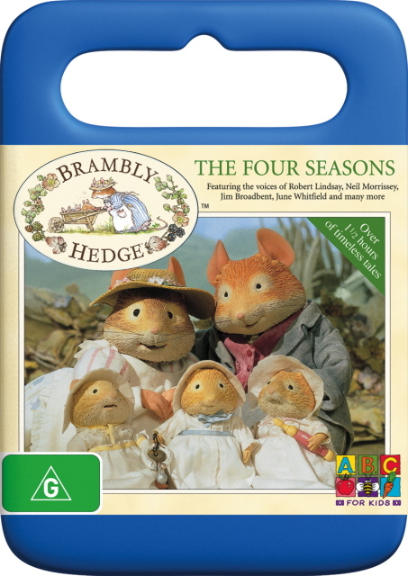 Brambly Hedge - The Four Seasons on DVD