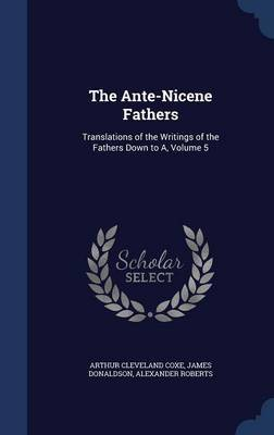The Ante-Nicene Fathers by Arthur Cleveland Coxe image