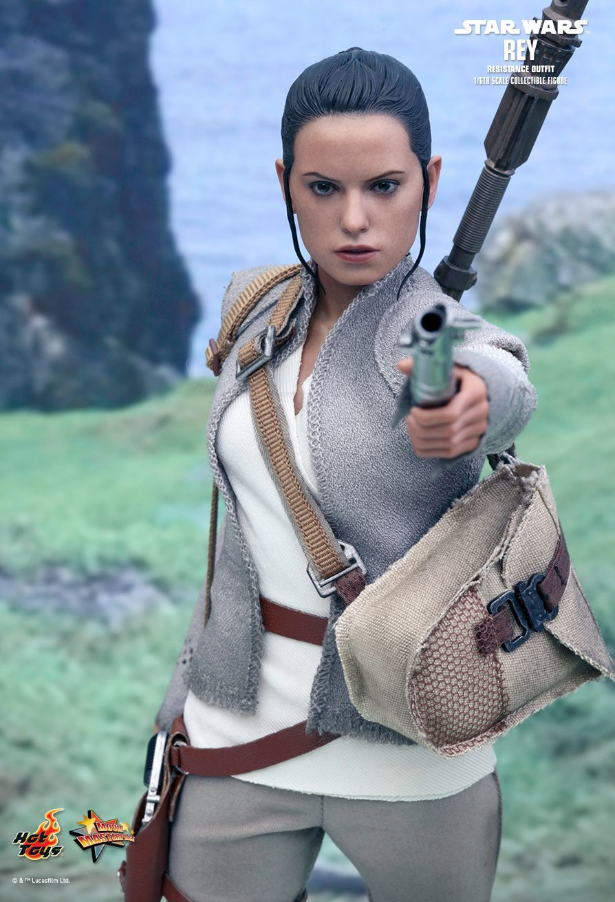 "Star Wars: The Force Awakens - 11"" Rey (Resistance Outfit) Figure image"