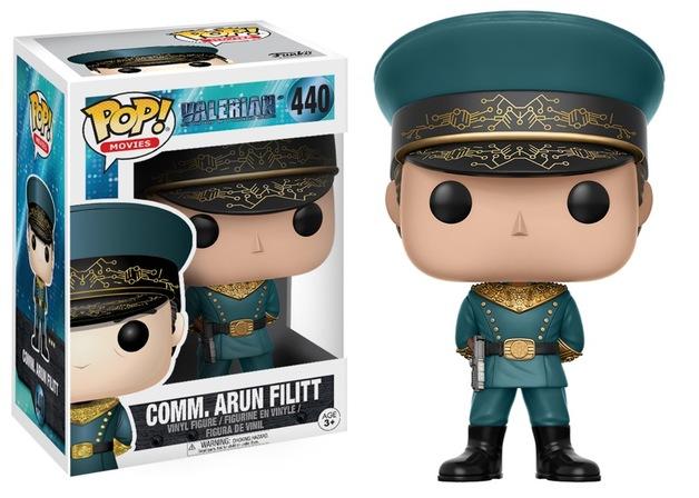 Valerian - Commander Arun Filitt Pop! Vinyl Figure