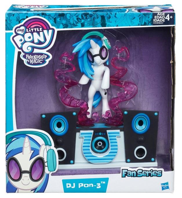 my little pony dj pon 3 fan series figure toy at mighty ape nz