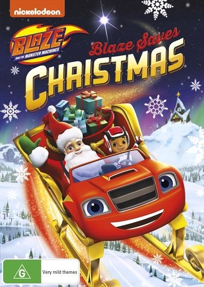 Blaze And The Monster Machines: Blaze Saves Christmas on DVD image