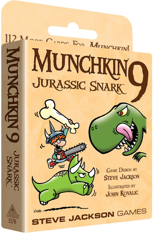 Munchkin 9: Jurassic Snark - Expansion Set