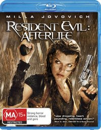 Resident Evil: Afterlife on Blu-ray