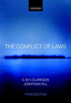 The Conflict of Laws by C.M.V. Clarkson image