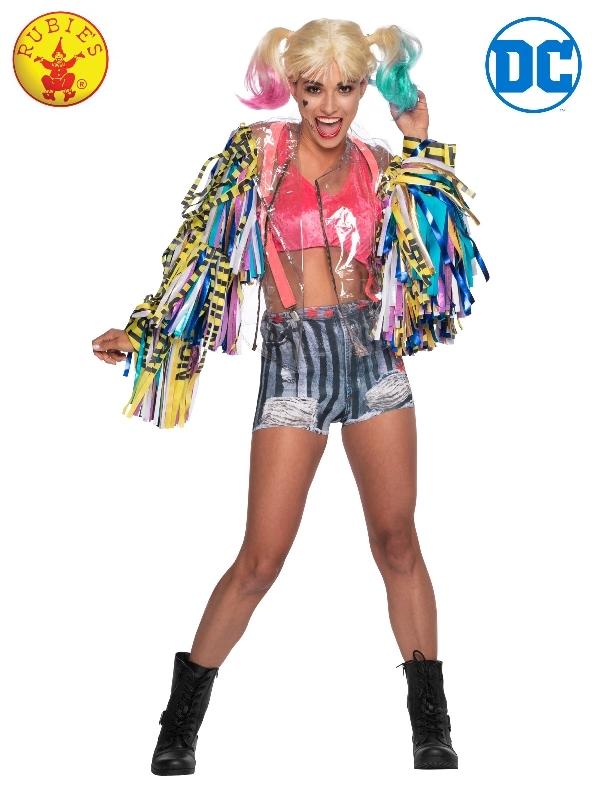 Harley Quinn Birds of Prey Costume, Adult - L