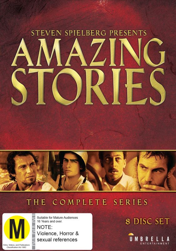 The Steven Spielberg Presents Amazing Stories - Complete Collection on DVD