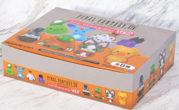 Final Fantasy XIV: Minion Mascot (Vol. 2) - Mini Figure Display (12-Pack)