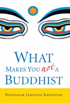 What Makes You Not a Buddhist by Dzongsar Jamyang Khyentse image