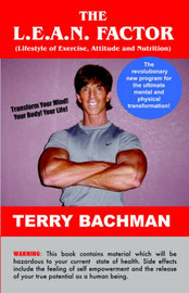 The L.E.A.N. Factor: Lifestyle of Exercise, Attitude and Nutrition by Terry, Bachman image