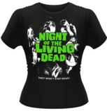 Night Of The Living Dead (Poster) T-Shirt (Small)