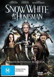 Snow White and the Huntsman on DVD