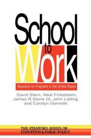 School to Work by David Stern image