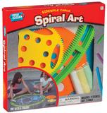 Playground Classics - Sidewalk Spiral Art