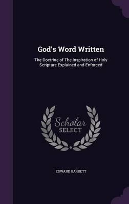 God's Word Written by Edward Garbett image