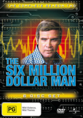 The Six Million Dollar Man - Complete Season 2 (6 Disc Set) on DVD