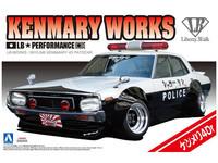 Aoshima: 1/24 LB Works Ken & Mary 4Dr. Police Car Model Kit