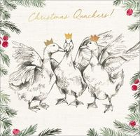 Art Marketing: Boxed Christmas Cards - Christmas Quackers image