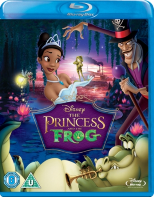 The Princess and the Frog on Blu-ray