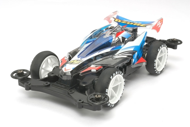Tamiya: Mini 4WD Avante Mk.III Azure Clear Special (MS Chassis)