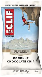 Clif Bar - Coconut Chocolate Chip (Box of 12)