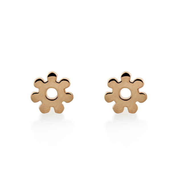 Bo + Bala: Daisy Studs Rose Gold - Exclusive Style