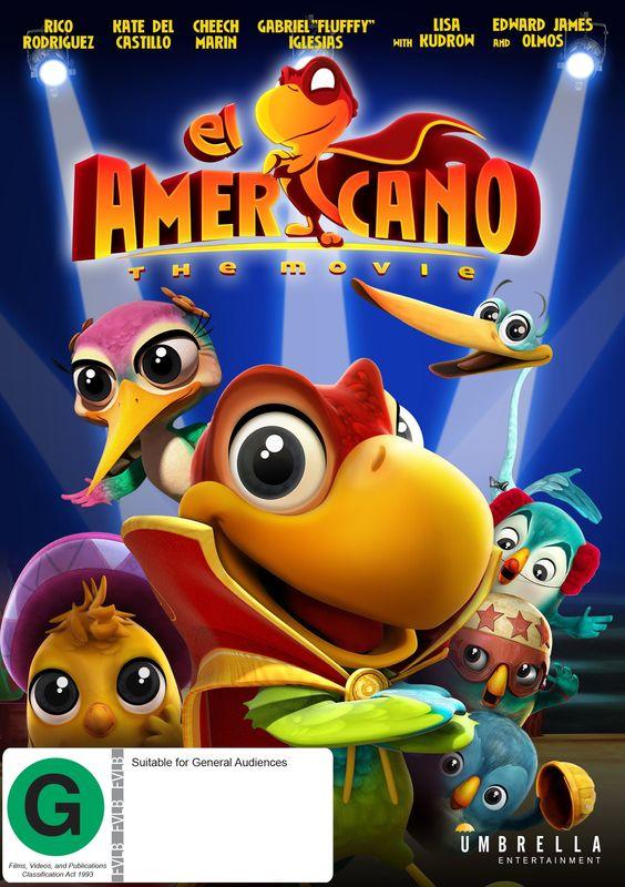 El Americano: The Movie on DVD