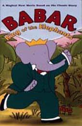 Babar The Elephant (g) on DVD