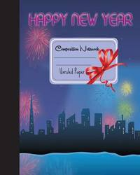 Primary Composition Book - Happy New Year by Mind Publisher