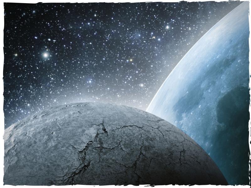 DeepCut Studio Planets Neoprene Mat (3x3) image