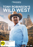 Tony Robinson's Wild West on DVD