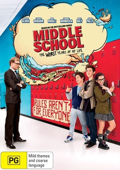 Middle School: The Worst Years of My Life on DVD