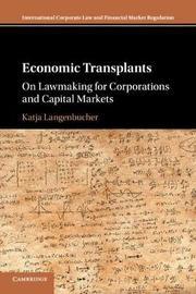 Economic Transplants by Katja Langenbucher