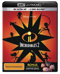 Incredibles 2 on UHD Blu-ray