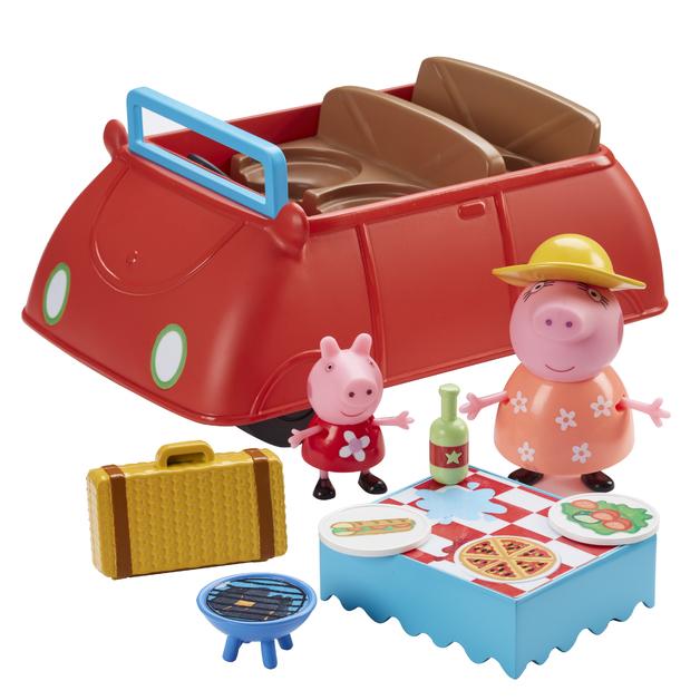 Peppa Pig: Peppa's Big Red Car - Deluxe Playset