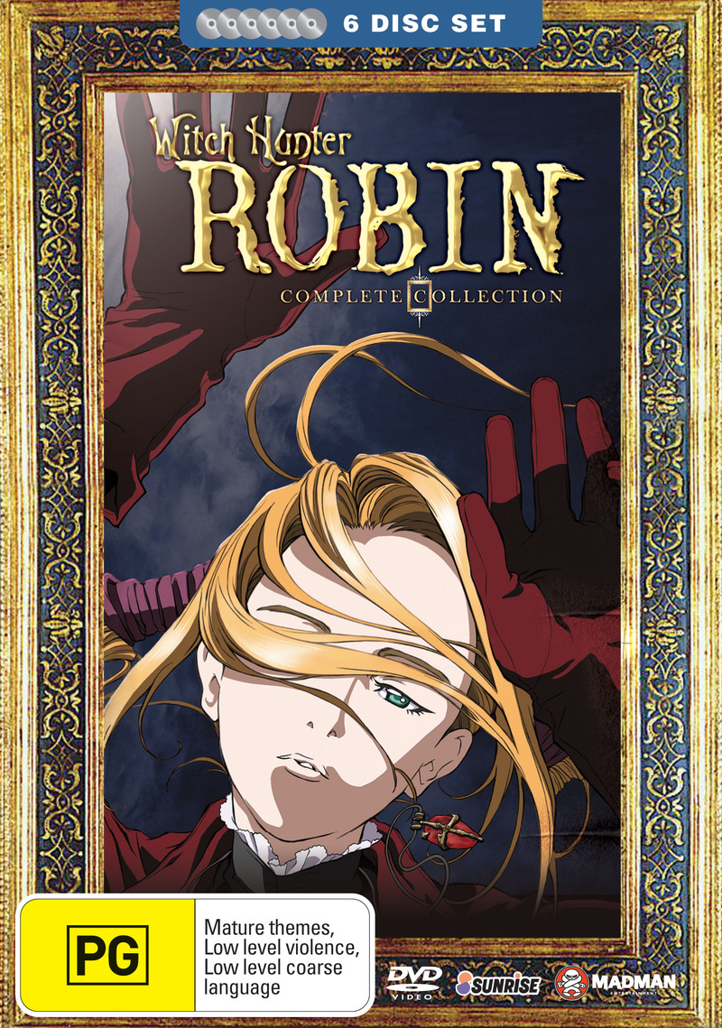 Witch Hunter Robin - Complete Collection (6 Disc Fatpack) on DVD image